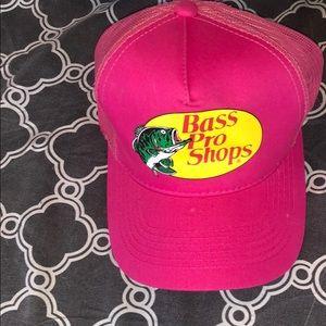 Pink Bass Pro Shop Hat